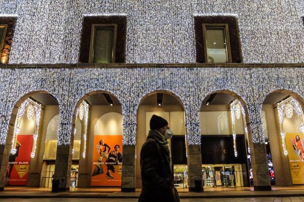 Koronawirus we Włoszech. Na ulicach Mediolanu wciąż widać niewiele osób /MATTEO CORNER /PAP/EPA