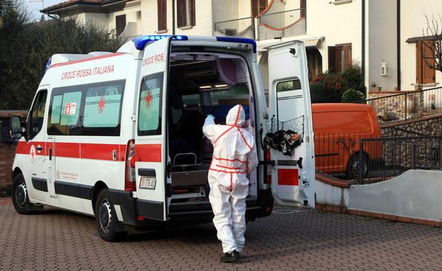 Koronawirus we Włoszech. Nie żyje pięć osób