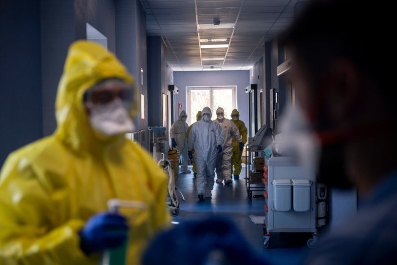 Koronawirus we Włoszech. Prowokacja ordynatora reanimacji, zdjęcie ilustracyjne /Antonio Masiello /Getty Images