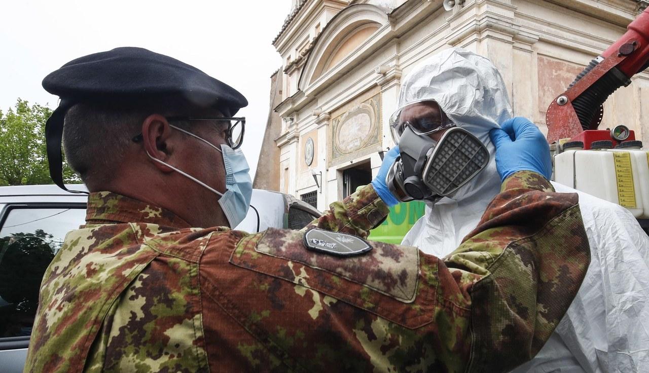 Koronawirus we Włoszech. Z każdym dniem znacznie rośnie liczba wyleczonych