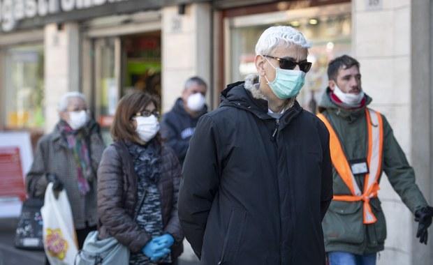 Koronawirus we Włoszech zabił więcej ludzi niż w Chinach