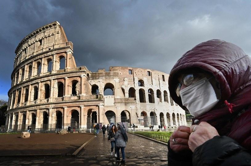 Koronawirus we Włoszech; zdj. ilustracyjne /AFP
