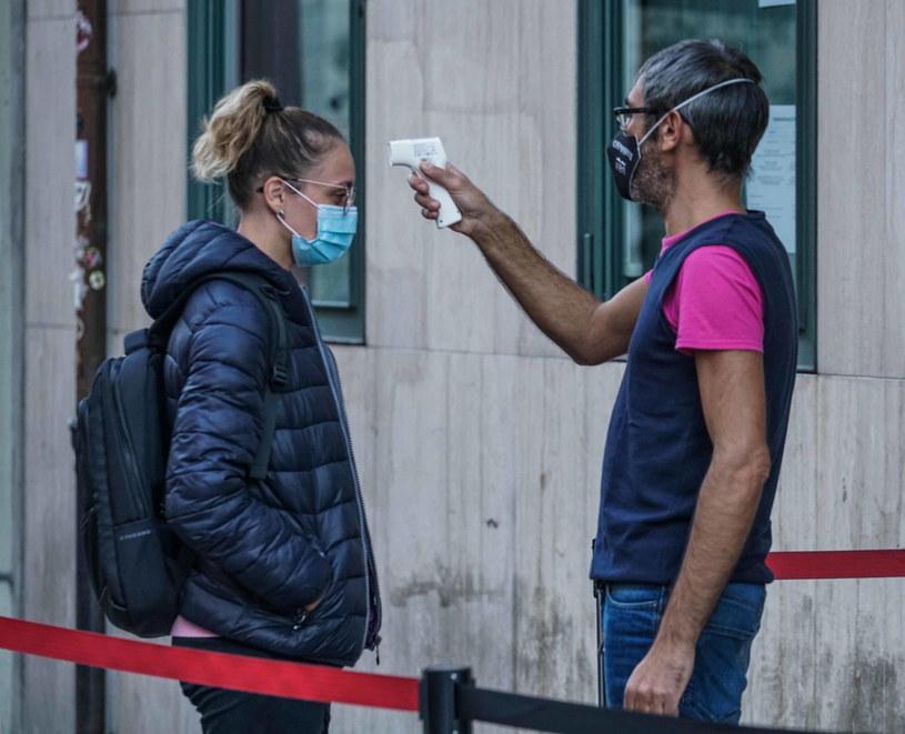 Koronawirus we Włoszech, zdjęcie ilustracyjne /PAP/EPA/TINO ROMANO /PAP/EPA