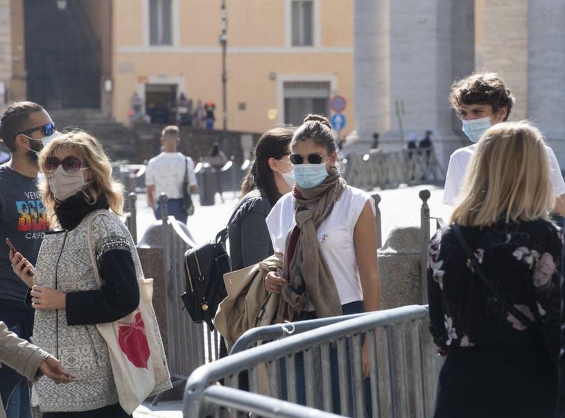 Koronawirus we Włoszech, zdjęcie ilustracyjne /CLAUDIO PERI /PAP/EPA