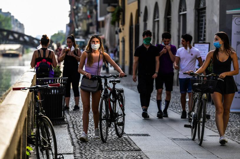 Koronawirus we Włoszech /AFP