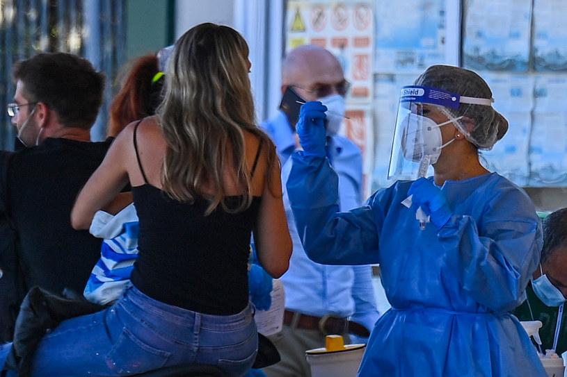 Koronawirus we Włoszech /VINCENZO PINTO /AFP