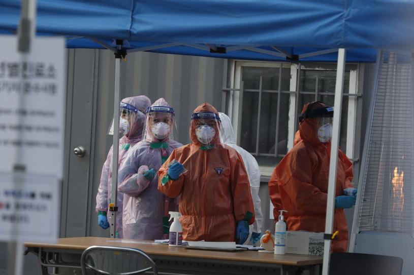 Koronawirus, zdjęcie ilustracyjne /JEON HEON-KYUN /PAP/EPA