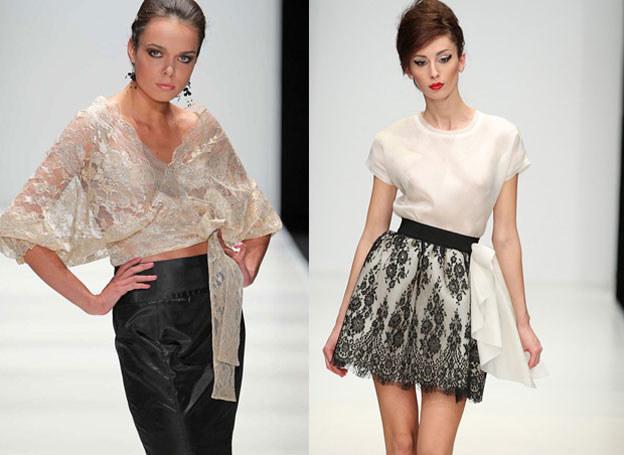 Koronkowa bluzka lub spódnica to dobry wybór /East News/ Zeppelin