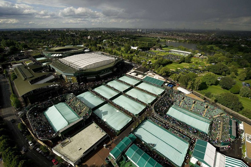 Korty w Wimbledonie /AFP