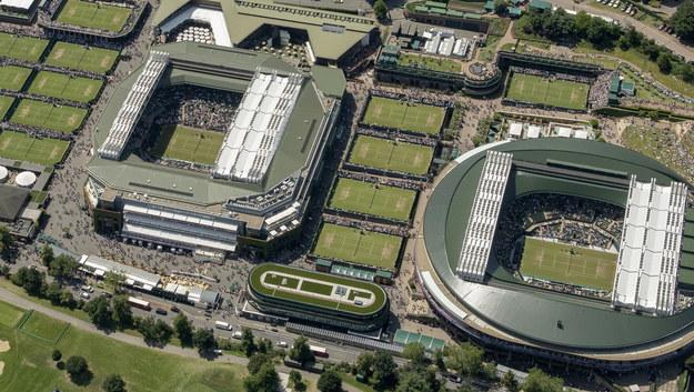 Korty Wimbledonu /THOMAS LOVELOCK HANDOUT /PAP/EPA