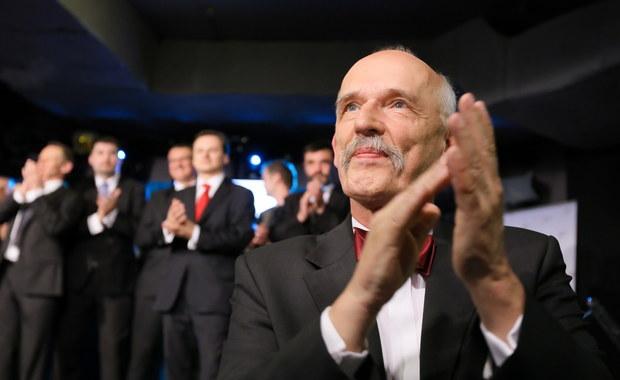 Korwin-Mikke: Będziemy walczyć z czerwoną ośmiornicą komunistycznych urzędasów
