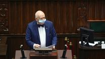 Korwin-Mikke przeciw maseczkom w Sejmie