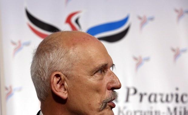 Korwin-Mikke wkracza na unijne salony