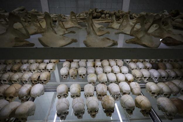 Kości ofiar masakry /DAI KUROKAWA /PAP/EPA