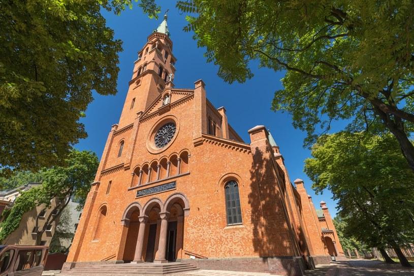 Kościół pw. św. Augustyna przy ul. Nowolipki w Warszawie. Do ataku doszło na przynależącej do niego plebanii. /ARKADIUSZ ZIOLEK /East News