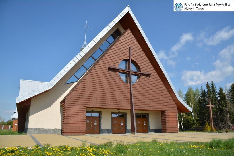 Kościół pw. Świętego Jana Pawła II w Nowym Targu /Parafia Świętego Jana Pawła II w Nowym Targu /facebook.com