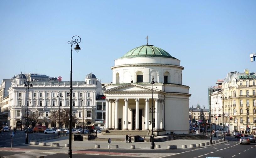 Kościół św. Aleksandra w Warszawie /Wojtek Laski /East News