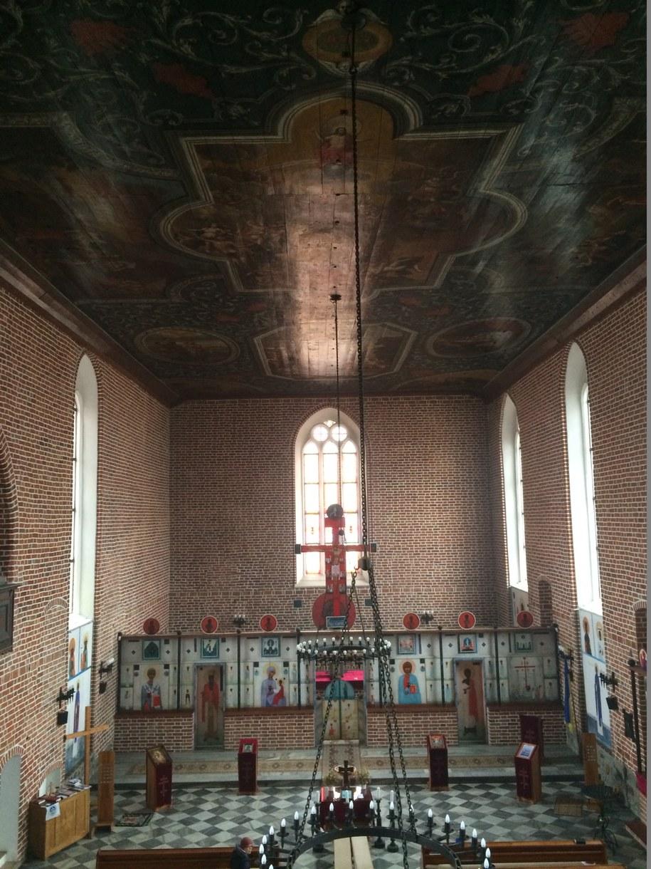 Kościół w Górowie Iławeckim /Piotr Bułakowski /RMF FM