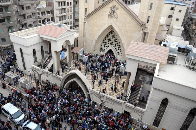 Kościół w mieście Tanta /MOHAMED HOSSAM /PAP/EPA