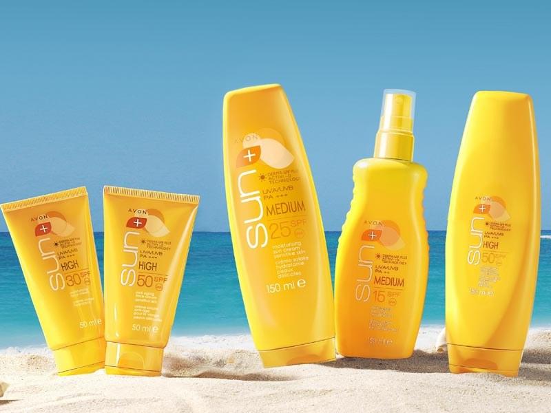 Kosmetyki Avon Sun+ /materiały prasowe