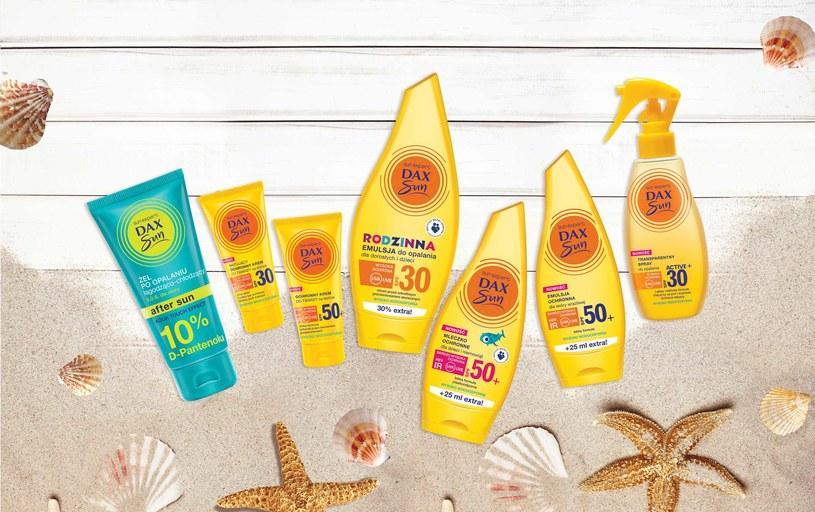 Kosmetyki DAX SUN /materiały prasowe