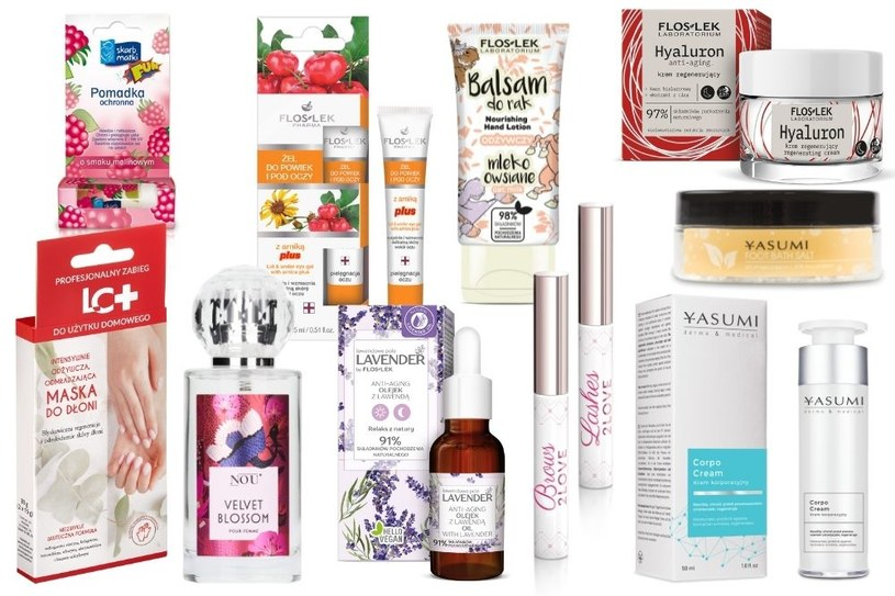 Kosmetyki dla czterdziestolatki - YASUMI, Floslek, INVEO, LC+, Skarb Matki, NOU /INTERIA/materiały prasowe
