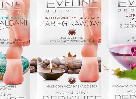 Kosmetyki do stóp od Eveline /materiały prasowe