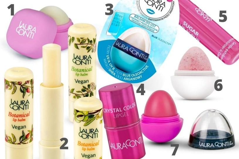 Kosmetyki do ust od Laura Conti /INTERIA.PL/materiały prasowe