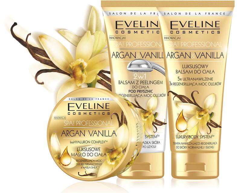 Kosmetyki Eveline Argan&Vanilla /materiały prasowe