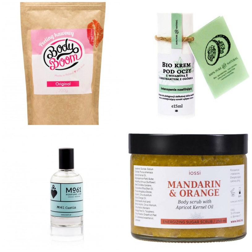 Kosmetyki firm BodyBoom, Iossi, Make Me Bio, Mo61 /materiały prasowe/ Showroom.pl /materiały prasowe