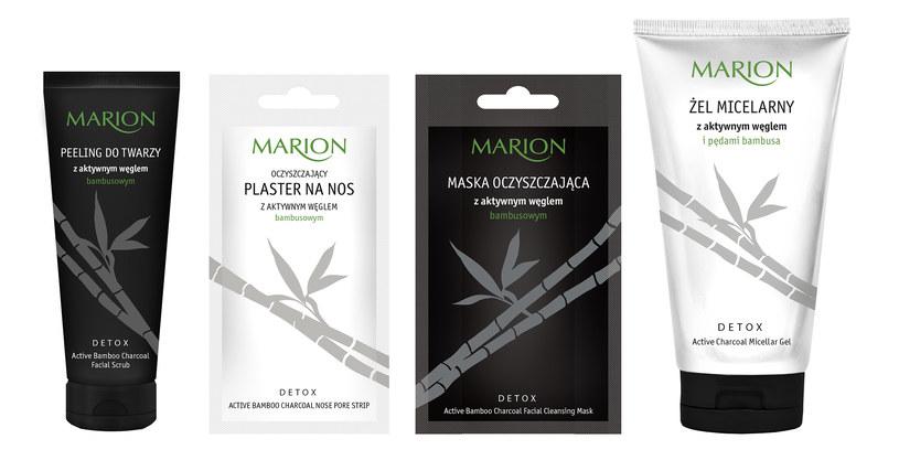 Kosmetyki Marion Detox /materiały prasowe