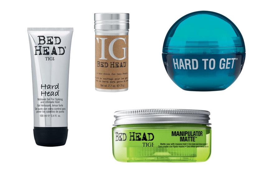 Kosmetyki marki Bed Head /materiały prasowe