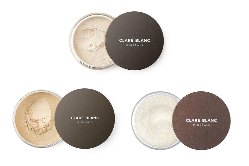 Kosmetyki na bazie minerałów od Claré Blanc /materiały prasowe