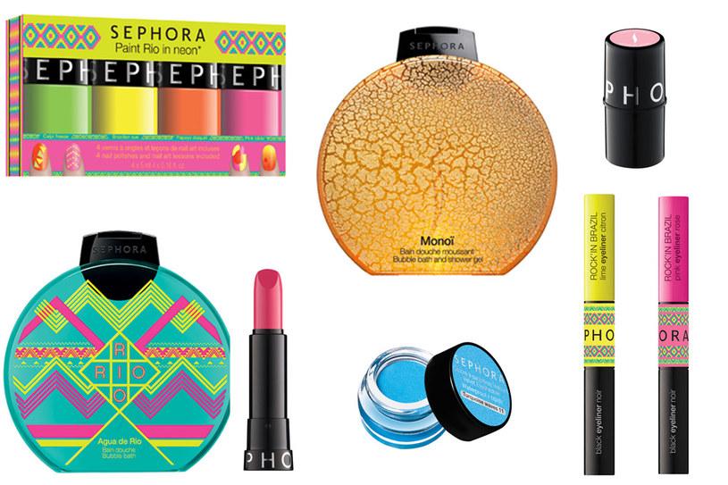 Kosmetyki na lato od marki Sephora /materiały prasowe