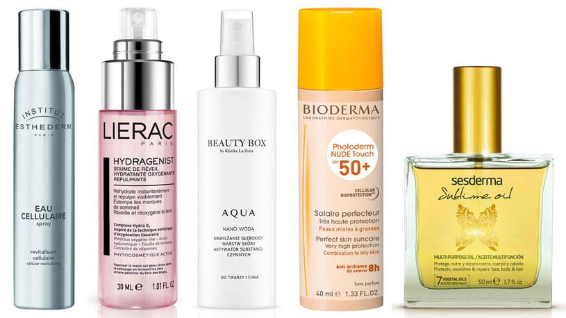 Kosmetyki na lato /materiały prasowe