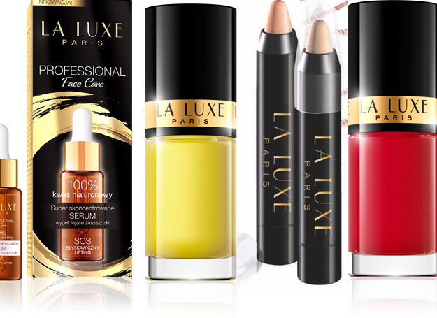 Kosmetyki od La Luxe /materiały prasowe
