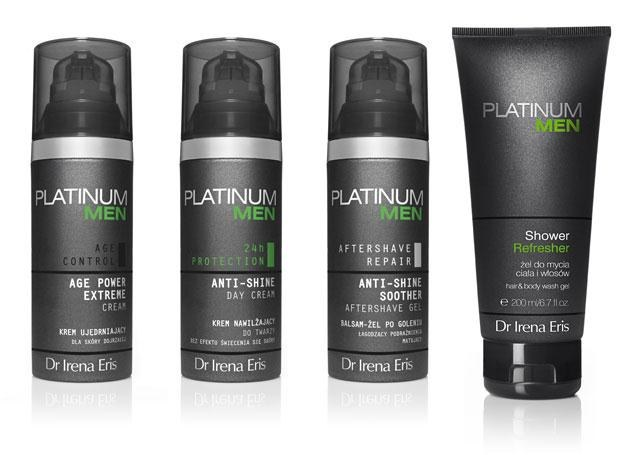 Kosmetyki Platinum Men /materiały prasowe