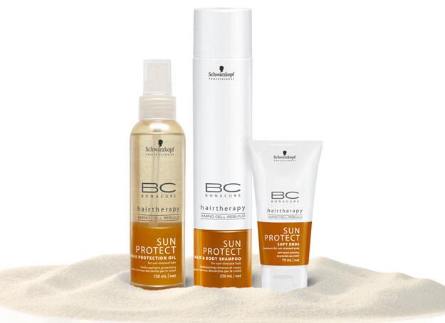 Kosmetyki przeciwsłoneczne do włosów /materiały prasowe