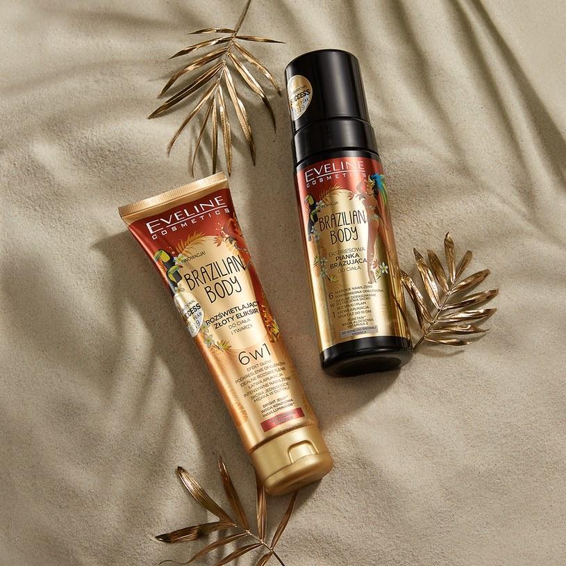 Kosmetyki samoopalające Brazilian Body od Eveline Cosmetics /INTERIA.PL/materiały prasowe