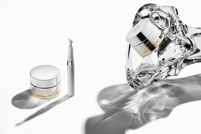 Kosmetyki serii Authority marki Dr Irena Eris umieszczone są w nowoczesnych, stylowych opakowaniach /materiały promocyjne