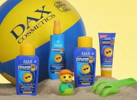 Kosmetyki słoneczne Dax Cosmetics dla dzieci /materiały prasowe
