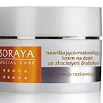 Kosmetyki z drobinkami złota Soraya