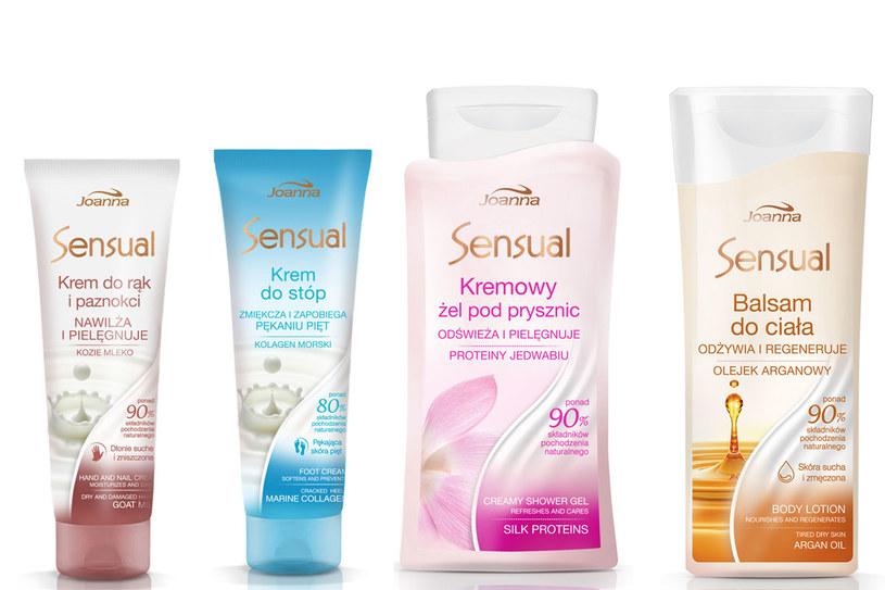 Kosmetyki z linii Joanna Sensual /materiały prasowe