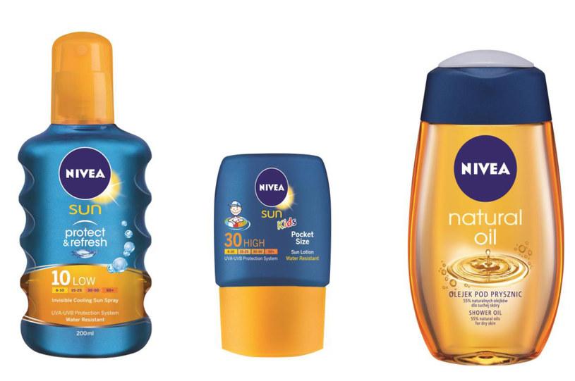 Kosmetyki z linii NIVEA SUN /materiały prasowe