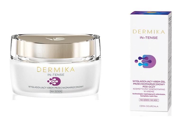 Kosmetyki  z serii Dermika In-Tense /materiały prasowe