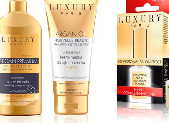 Kosmetyki z serii Luxury Paris /materiały prasowe