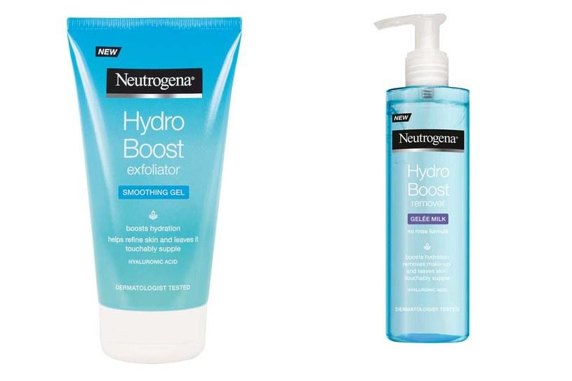 Kosmetyki z serii Neutrogena Hydro Boost /materiały prasowe
