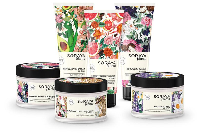 Kosmetyki z serii Soraya plante /materiały prasowe
