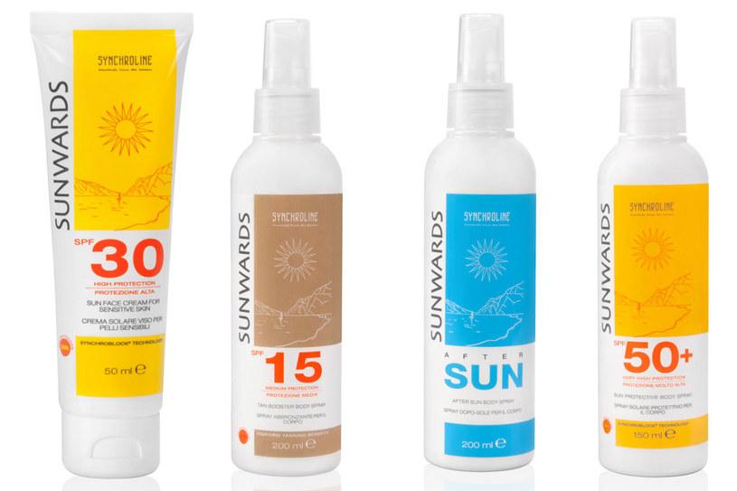 Kosmetyki z serii Synchroline Sunwards /materiały prasowe