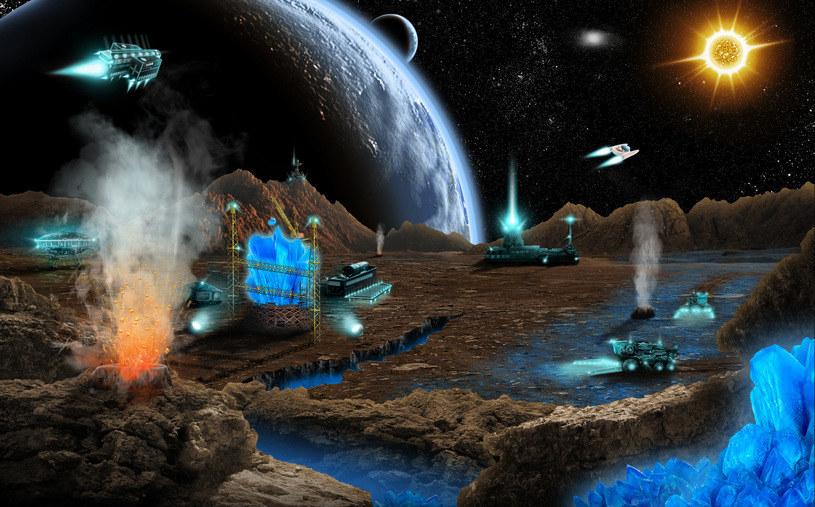 Kosmiczne górnictwo wkrótce stanie się faktem /123RF/PICSEL